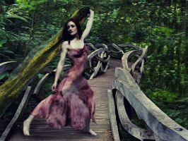 Woodland Bridge by Odette-Roissy
