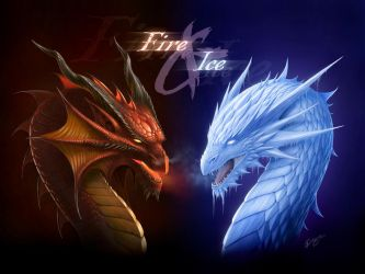 FIRE and ICE by Deligaris