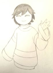 Just Frisk by Delta-Alpha2789