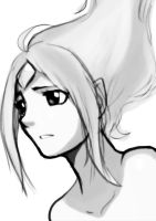 Adventure Time: Flame Princess :Sketch: by moxie2D