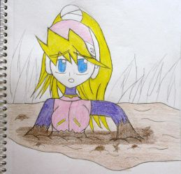 Ciel in Quicksand Colored by Lady-of-Mud