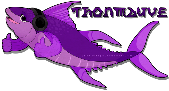 [COM] Thonmauve [Gaming Logo] by Solar-Paragon