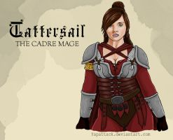 Tattersail: The Last Cadre Mage by YapAttack