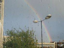 Rainbow in the Sky by MillieBee