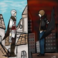 Ezio and Alex by AlexIbnlaAuditore08