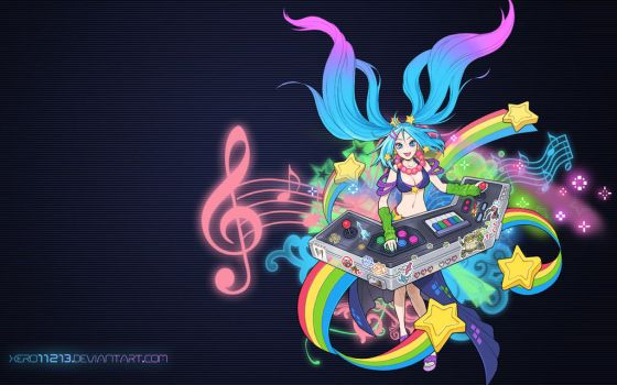 Sona Wallpaper (1680x1050) by xero11213