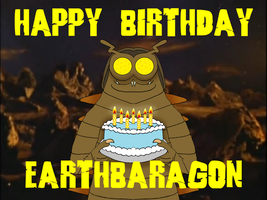Happy (belated) Birthday, earthbaragon by BigJohnnyCool