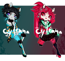 SP Gleamstic: Neon Quibon [CLOSED] by Cyleana