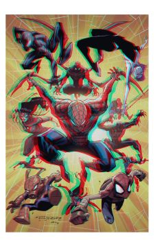 Spiderverse by KharyRandolph 3D by Fan2Relief3D