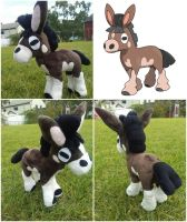 Mudbray Pokemon Plush