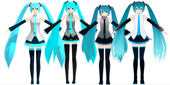 my new miku timeline by MMD-MCL