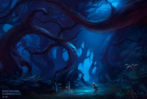 Hart's Hollow by krenx
