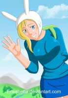 Adventure Time - Fionna by Erisabetta