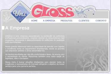 Gloss Website by ge04