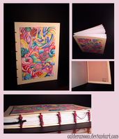 Sweet Candy Notebook.. by calderamoon
