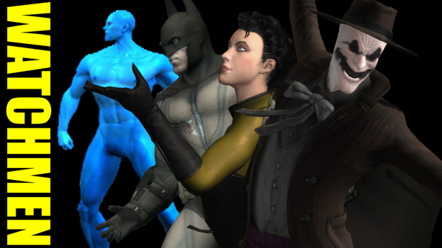 Injustice: Gods Among Us - Watchmen Pack by CapLagRobin