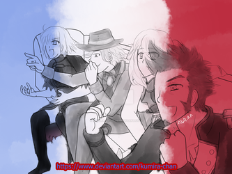 Fate/Grand Order - France's World Cup Victory by Kumira-chan