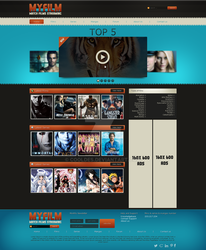 MyFilm Webinterface by CoolDes