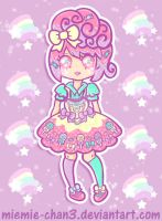 Kawaii fairy-kei Rainbow Star by miemie-chan3