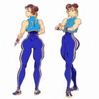 Street fighter Alpha- Chun Li by ChaseConley