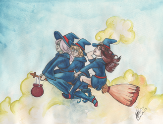 Little Witch Academia by SagaStuff94