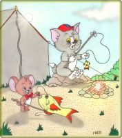 Tom  and  Jerry  Kids by fredvegerano