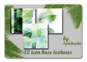 Green Abstract icon Textures by spiritcoda