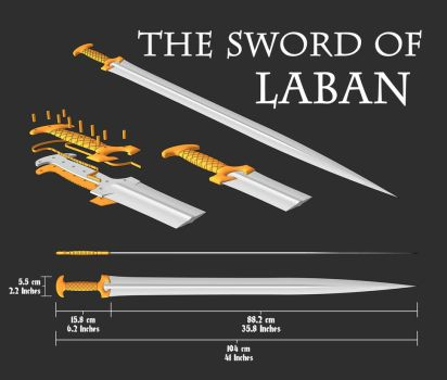 The Sword of Laban from the Book of Mormon by shad-brooks