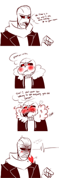Underfell: Floof by Bunnymuse