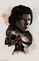Kylo Ren by Shattered-Earth