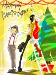 Downtown Intrigues- Happy Xmas by olafpriol