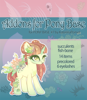 [P2U] Addons for pony base by xaineko