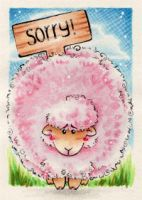 Sorry - ACEO 161 by Arthay