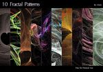 [Stock]  10 Free Fractal Patterns by Ulario