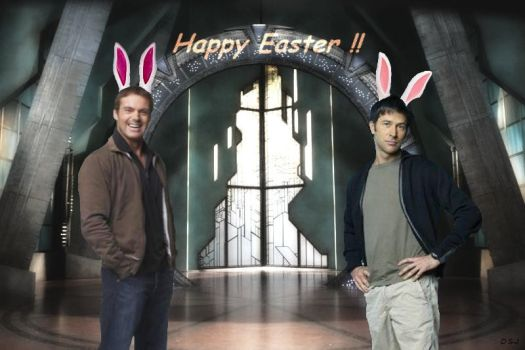 Happy Easter by Space-S-Monkey