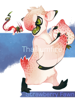 Strawberry Fawn by NebNomMothership