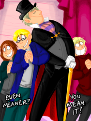 APH: Champagne and Caviar by BechnoKid