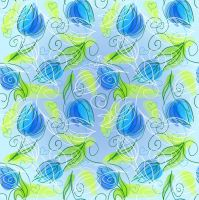 Abstract-Floral-Seamless by vectorbackgrounds