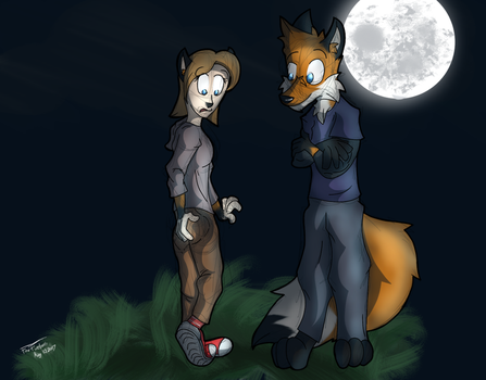 Commission - Date Night 7 by Fox-Fireborn