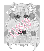 [Fruit Animals] Princess Oranges Auction [OPEN!!!] by Khimchee