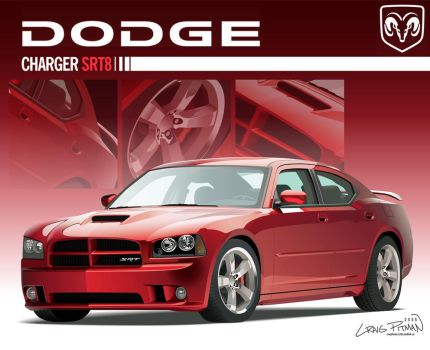 2006 Dodge Charger SRT8 Vector by CRWPitman
