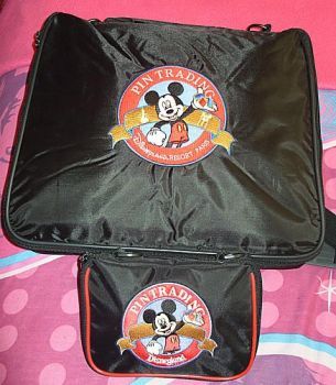 My Disney pin trading bags by Aveen2009