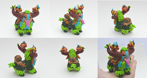 Shagbark figurine by IcekaWorld