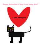 Boxycat Wishes You a Happy Valentine's Day by tootleytoo