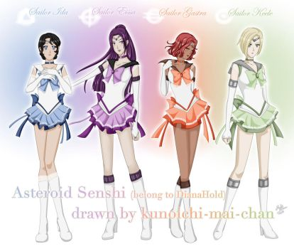Asteroid Senshi, by Mai by DianaHold