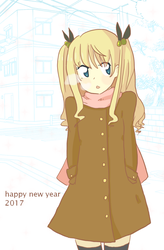 happy new year 2017 by tinychives