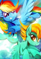 Double the Speed by Rariedash