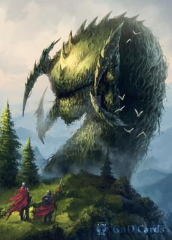 Forest Wurm by Tira-Owl