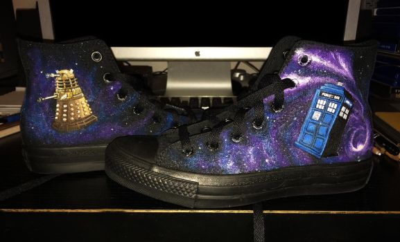 DOCTOR WHO SHOES by Frankblanket
