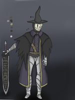 My Bloodborne hunter by ChromeFlames